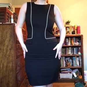 Calvin Klein Mod 60's-style Dress (Professional)